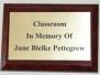 2008 - Classroom dedication